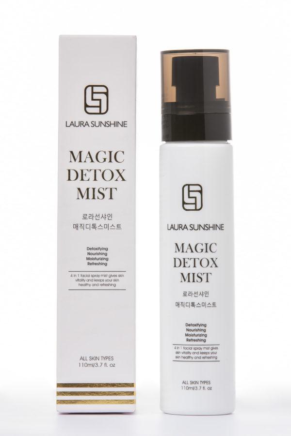 Xịt khoáng thải độc Magic Detox Mist - Mỹ phẩm Laura Sunshine Nhật Kim Anh