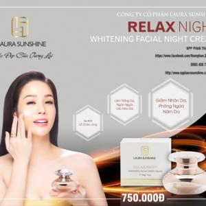 Dưỡng Trắng Da, Ngăn Ngừa Lão Hóa Relax Night