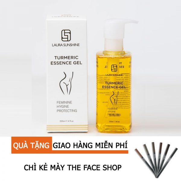 Dung dịch vệ sinh phụ nữ Turmeric Essential Gel - Mỹ phẩm Laura Sunshine Nhật Kim Anh