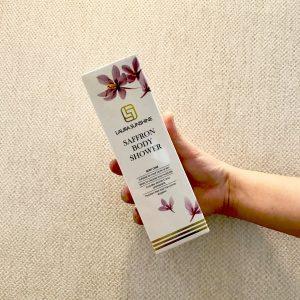 Sữa tắm Nhụy hoa Nghệ tây - Saffron Body Shower Laura sunshine Nhật Kim Anh