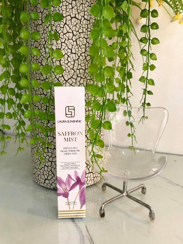 Xịt dưỡng Nhụy hoa nghệ tây - Laura Sunshine Saffron Mist Nhật Kim Anh