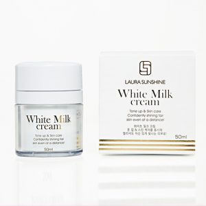 Kem sữa trắng da mặt laura sunshine milk cream