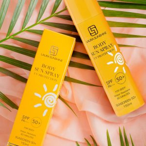 Xịt Chống Nắng Toàn Thân Body Sun Spray Spf50+ Pa+++ 150ml Laura Sunshine Nhật Kim Anh